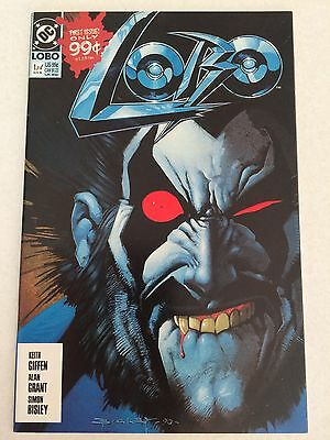 Lobo #1 from 1990 NM- 9.2  condition Simon Bisley art