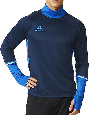 adidas Condivo 16 Long Sleeve Mens Training Top - Navy