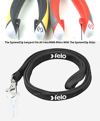 FELO Tool Safety Tether Lanyard For SystemClip Standard & VDE Pliers, 58000100