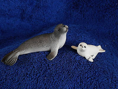 SEAL & PUP by Schleich; toy/NEW 2013/seals/SO CUTE!!