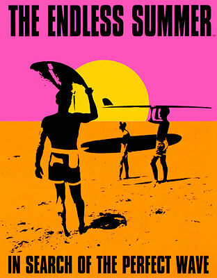 Endless Summer Tin Sign - 12.5x16