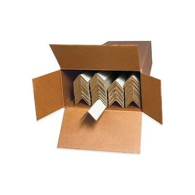 """Aviditi 0.225 Edge Protectors, Packed, 3"""" x 3"""" x 48"""", Pack of 35 (EP3348225BX)"""