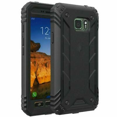 Poetic For Samsung Galaxy S7 Active[Revolution Series] Protection Hybrid Case BK
