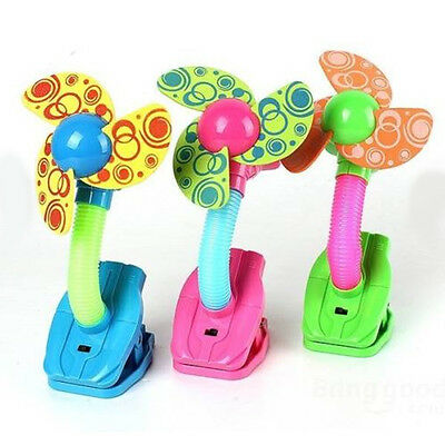 Pushchair Desk Pram Baby Safety Bed Buggy Infant Fan Cots Mini Strollers Clip-on