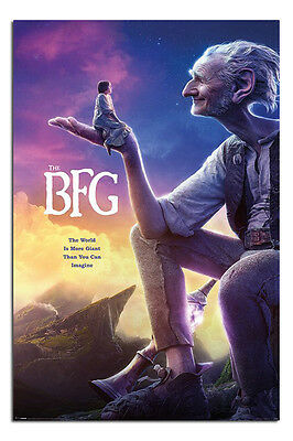 The BFG Film Movie One Sheet Poster New - Maxi Size 36 x 24 Inch