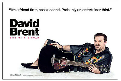 David Brent Life On The Road Film Movie Poster New - Maxi Size 36 x 24 Inch