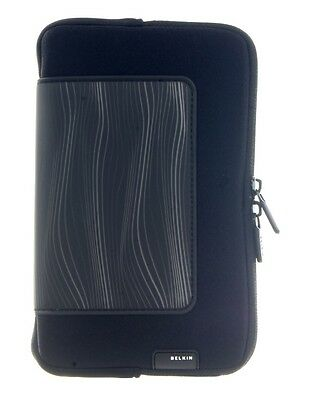 New Belkin Secure Zipped Pencil Case Stationary Holder Pen Box Storage Pouch