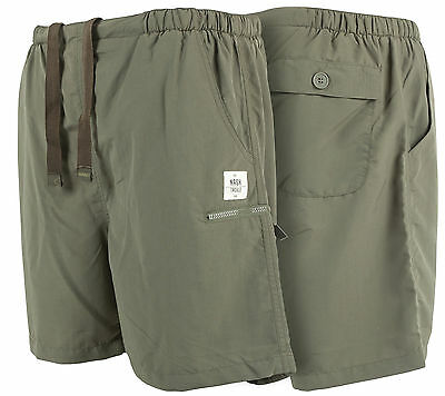 Nash Tackle NEW Carp Fishing Green Lightweight Shorts *All Sizes*