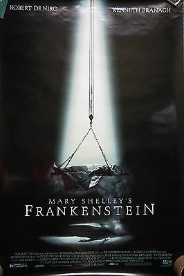 Mary Shelley's Frankenstein (adv)US sgl sheet Movie Poster 1994 24 X 41 inches