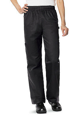 Black Dickies Unisex Cargo Pocket Chef Pants DC12 BLK