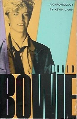 David Bowie: A Chronology, 1984 Book (16 Page Photo Section