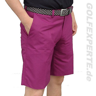 J. Lindeberg Golf Short-Uomo Somle Regular Fit Luce Poly Viola