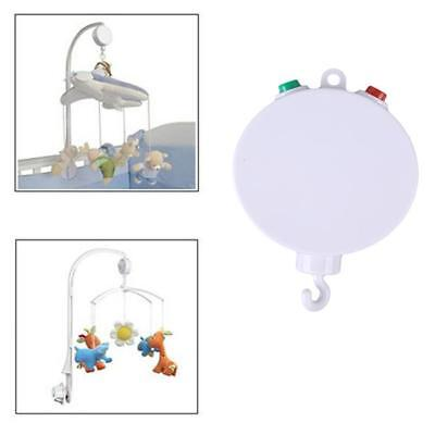 Baby Mobile Crib Bed Toy White Music Box Autorotation Bell Nursery 35 Songs B
