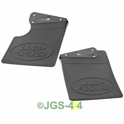 Land Rover Defender 90 TD5 PUMA Mud Flaps Rear GENUINE LR - LR055332 + LR055340