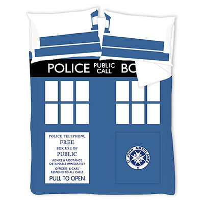 Doctor Who Time Lord Double Duvet Cover & Pillowcase Set Official Bbc