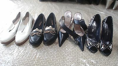 Size 6.5 Lot Of 8 Mix Heels Flat Boots Shoes Chinese Laundry Fioni Bcbg Skechers