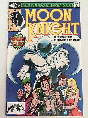 Moon Knight #1 FN 6.0 condition 1980 first issue