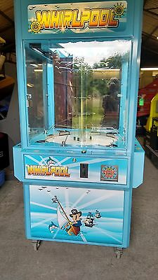 WHIRLPOOL 4 PLAYER ARCADE MACHINE - Coin Op. - Used - Good Condition