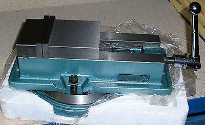 Gloster 100mm Swivel Base Accu-Lock pull-down Milling Machine Vice QM16100 4""