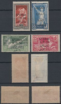 Liban Lebanon 1924 */MLH Mi.53/56 Olympic Games Olympische Spiele [st1813]