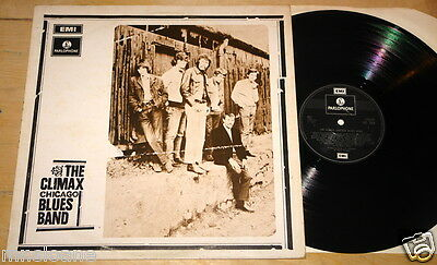 The Climax Chicago Blues Band Uk Parlophone Vinyl Lp 1970 Silver 2Nd Press