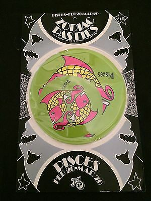 PISCES ZODIAC PASTIES Unopened Package of Six Stickers