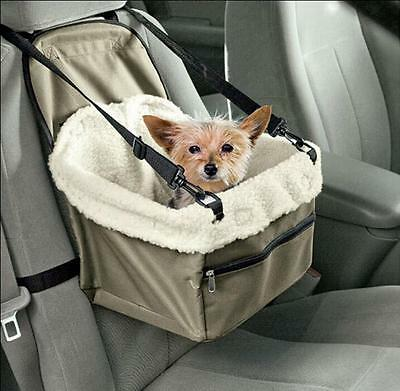 Car Seat Pet Safety Travel Safe Pet Lookout Dog Cat Booster Seat Dog Cat Carrier