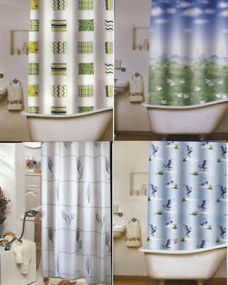10 x Brand New Polyester Shower Curtain Postage Free