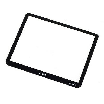 Fotga LCD screen protector Hard Optical glass Rigid  for Nikon D3300 DSLR camera