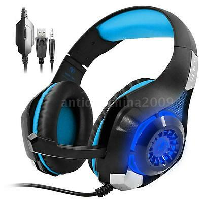 Beexcellent Stereo Gaming Headset Headband Headphone w/Mic for PS4 Xbox One F8S2