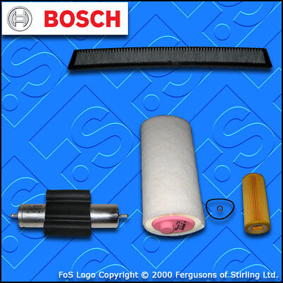SERVICE KIT for BMW 3 SERIES E46 1995CC 320D OIL AIR FUEL CABIN FILTER 2001-2005