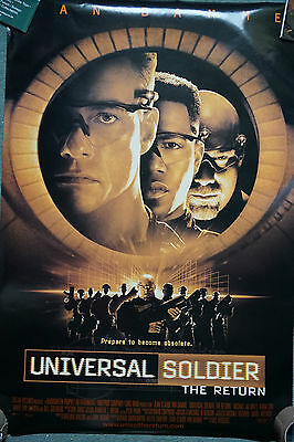 Universal Soldier : The Return US Dble Sheet Movie Poster 1999 24 X 41 inches