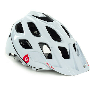 661 Recon Scout Mtb Bike Helmet White/red