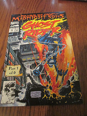 Ghost Rider #28 (Aug 1992, Marvel) Rise of the Midnight Son ( Near Mint )