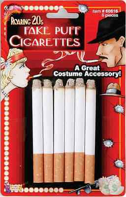 Fake Cigarettes Roaring 20's Flapper Trick Joke Halloween Costume Accessory