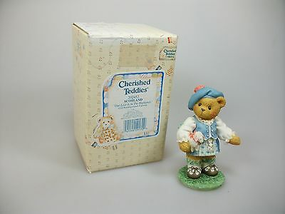 Cherished Teddies SCOTLAND Our Love Is In The Highlands 202452