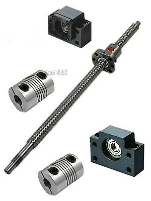 Antibacklash Ball Screw SFU1605 L200-920mm & BK12 BF12 +2x 6.35x10mm Coupler Set