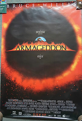 Armageddon (1998) (Reg) US Single Sided Movie Poster 27 x 40 inches