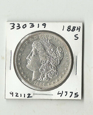 1884 S Morgan Silver Dollar - # 330319