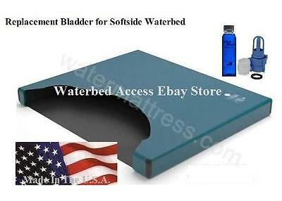 Free Flow Replacement Bladder for Twin and Single Softside Waterbed Mattresses