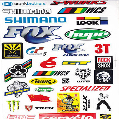 Bicycle Cycling Sticker Mountain Bike Skateboard Decal Fashion Stickers 1# uf