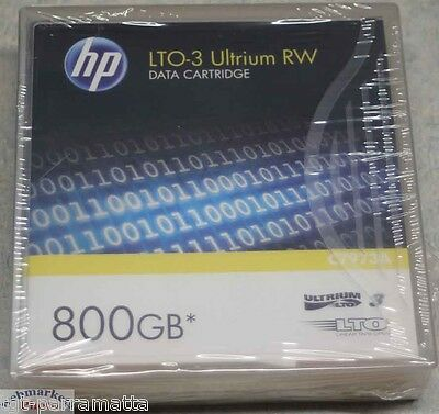 HP LTO-3 Ultrium RW DATA CARTRIDGE 800GB, C7973A