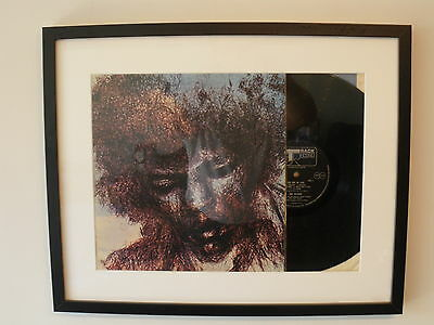Jimi Hendrix 'The Cry Of Love' 1971 vintage vinyl LP record in stylish frame
