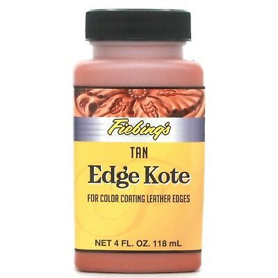 Fiebing's Tan Leather Edge Kote 4 oz. 2225-06