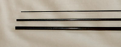 IM6, 3 PC, 3 WT, 6 FT 8 IN FLY ROD BLANK, translucent olive, 1 Tip, by Roger