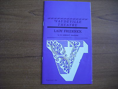 Vaudeville Theatre, London - Lady Frederick - 1971 - Margaret Lockwood