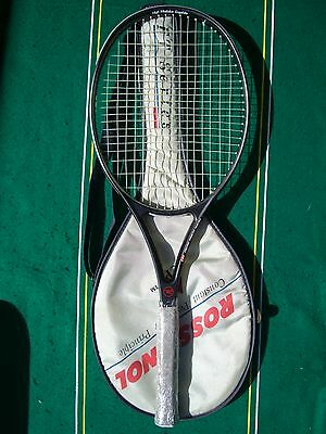 Rossignol FT Ellipse 80 Midplus Racket 3/8 Strung Cover EXCL+