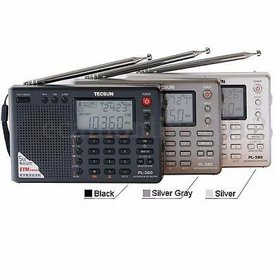TECSUN PL380 DSP/ PLL/ FM/ MW/ SW/ LW Stereo Digital Radio World Band Receiver