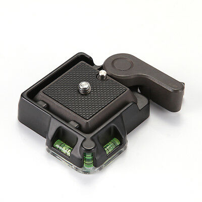 QR Quick Release Clamp Adapter Plate Stand For Tripod Ball Head Arca Benro NEW