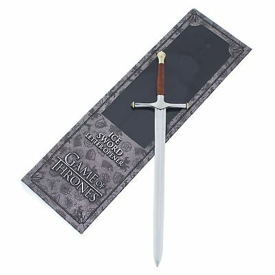 Game of Thrones Ice Letter Opener The Noble Collection Official Stark 9''